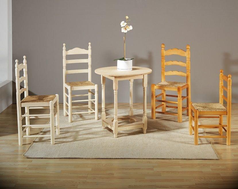 Mesas y sillas de madera en madrid f sanz for Catalogo de mesas